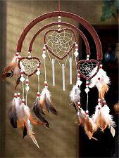 Southwestern * Dreamcatcher Triple Hearts Windchimes And/Or Wall Art * Nib