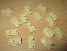 1196 Lego Platte 2x2 Beige 5 Stück