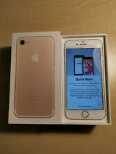 IPHONE 7 32GB ROSE GOLD EE CRACKED SCREEN BOXED