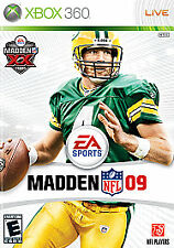 Madden Nfl 2009 Xbox 360 Sports (Video Game)