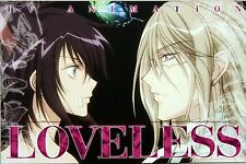 LOVELESS promo card Yaoi BL yun kouga official Soubi Ritsuka
