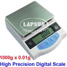 1000g x 0.01g High Precision Digital Electronic Jewelry Balance Scale LB Amput a