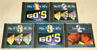 5 CD SAMMLUNG - HITS OF THE 50s 60s 70s - BEACH BOYS JAMES BROWN MUNGO DRIFTERS