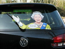 WAVING QUEEN ANNIVERSARY COLLECTABLE 60 YEARS OF SERVICE