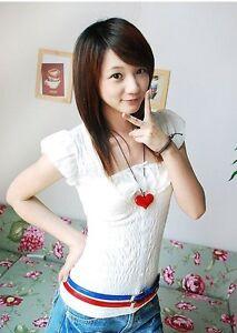 Women Girls waist belt size 8-10 PVC Ultra Thin Skiny Patent Look Belt Uk seller