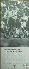 1966 Bicycle Institute of America(Bike Way)Baseball Ad