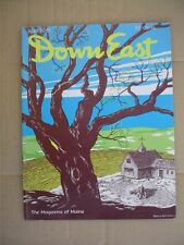 DOWN EAST Maine mag. April 1961  Maine Narrow Gauge Railroads   Boothbay Harbor
