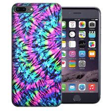 For Apple iPhone 7 Plus 8 Plus Hippie Tie Dye Design TPU Gel Case Cover