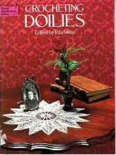 Crocheting Doilies - edited by Rita Weiss (1976, Crochet Book)