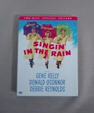 1952 Classic Singin' in the Rain 2002 Dvd Special Edition 2-Disc Set Like New!