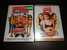AMERICAN PIE THE NAKED MILE & AMERICAN PIE-2 Unrated DVDs-Hilarious, raunchy fun