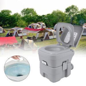 20L Camping Toilette Portable Mobile WC Chimique Outdoor Randonnée WC