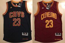 Lebron James #23 Cleveland Cavaliers Basketball Swingman Navy Blue Mens Jersey