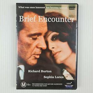 Brief Encounter 1974 DVD - R All - Sofia Loren, Richard Burton - TRACKED POST