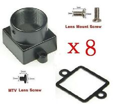 Sunvision 8x Metal M12 Mount Lens Holder Kits for CCTV Board Camera (MM)