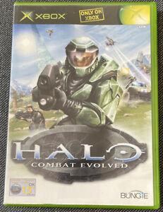 Xbox Original Game - Halo Combat Evolved - Complete - PAL VGC Free UK PP