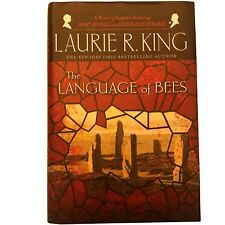 Signed, The Language of Bees, by Laurie R. King, FINE, TRUE FIRST