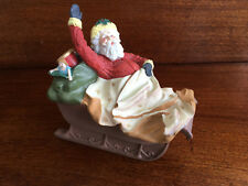 Vintage Collectible Hallmark Limited Edition The Journey Begins Santa & Sleigh