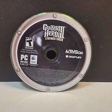 Guitar Hero III: Legends of Rock (PC, 2007) DISC ONLY