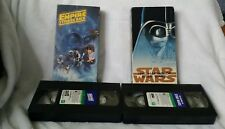 The Making of Star Wars & Empire Strikes back- Vhs - Lucas Film