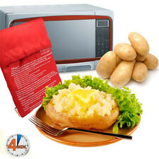 2 Pcs Oven Microwave Baked Red Potato Bag For Quick Fast