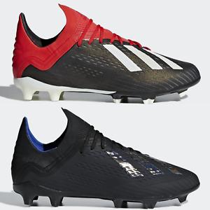 adidas X 18.1 FG Junior Football Boots Boys Girls Black SIZE 1 2 3 3.5 4 4.5 5