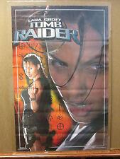 vintage Lara Croft Tomb Raider original movie poster Angelina Jolie 8402