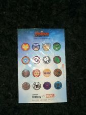 16 Different MARVEL AVENGERS Stickers . Make any offer!