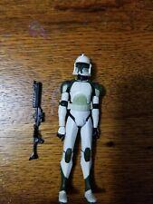Star wars clone wars Anti-Hailfire Droid Squad Battle pack Clone Trooper.  Loose
