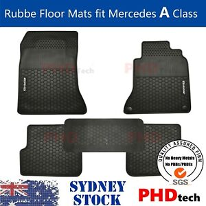 Heavy Duty Rubber Floor Mats Tailored for Mercedes A Class AMG W176 2012~2018