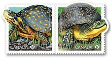 2019 Canada 📭 ENDANGERED TURTLES 🐢 PAIR of MNH Stamps 🐢 from Booklet 📬