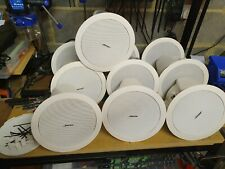 10x BOSE FreeSpace DS 16F White 16W Speaker Flush-Mount Ceiling Recessed 100V 8Ω