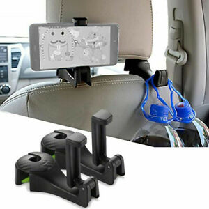 Universal Car Seat Back  Hook Headrest Hanger Mobile Phone Holder Bracket