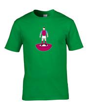 WEST HAM- Favourite TEAM KIT COLOURS Boy's Personalised Football Fan T-Shirt
