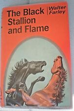 THE BLACK STALLION AND FLAME Walter Farley 1st Print 1960 Hardcover & Jacket