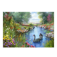 DIY 5D Diamond Painting Wild duck Diamond Mosaic Cross Stitch Diamond Em J7K3