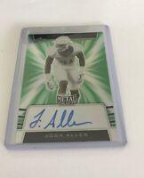 Josh Allen 2019 Leaf Metal Draft Autograph 7/10 ROOKIE CARD