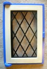 Vintage Dolls House DIY - Caroline's Home Single Lattice Glazed Blue Window #2