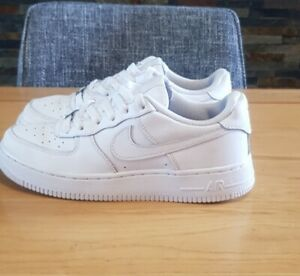 Nike Air Force 1 Trainers GS Size UK 5 White