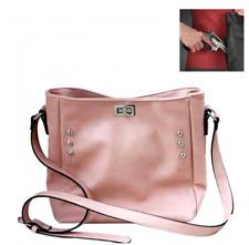 Concealed Carry CCW Gun Handbag Fashion Crossbody Bag Dusty Pink Purse
