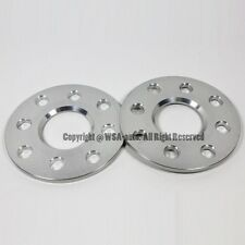2 Pcs Wheel Spacers 4x100 To 4x108 | 57.1 CB | 14X1.5 | 7MM For Audi Volkswagen