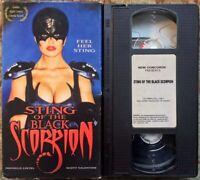 """Sting Of The Black Scorpion"" VHS Rare Cult Classic Female Superhero"