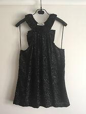 SStriking Rachel Gilbert full sequins silk dress top 0 6  Excellent condition