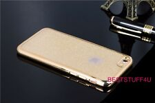 "GLITTER BACK Fits IPhone  Soft Bling Shock Proof Silicone Case Plating Frame ""60"