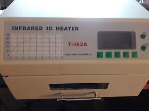 T962A T-962A Infrarot Ic Heizung Reflow Ofen Lötmaschine oven - modded