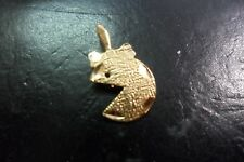 miss pacman 14kt gold charm