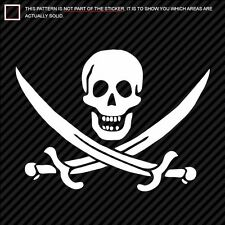 (Large) CALICO JACK / JOLLY ROGER Sticker Decal