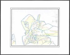 G.I. Joe Resolute Storm Shadow Original Production cel drawing Christmas Gift!