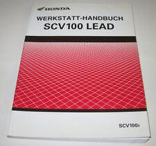 Werkstatthandbuch Honda SCV 100 Lead Motor Bremsen Anlasser Elektrik Stand 2003!