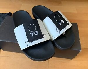 Y-3 x Adidas Adilette Yohji yamamoto BC0911 black white made in Italy
